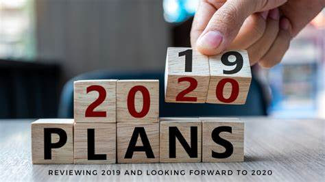 LOOKING FORWARD – BRING ON 2020!