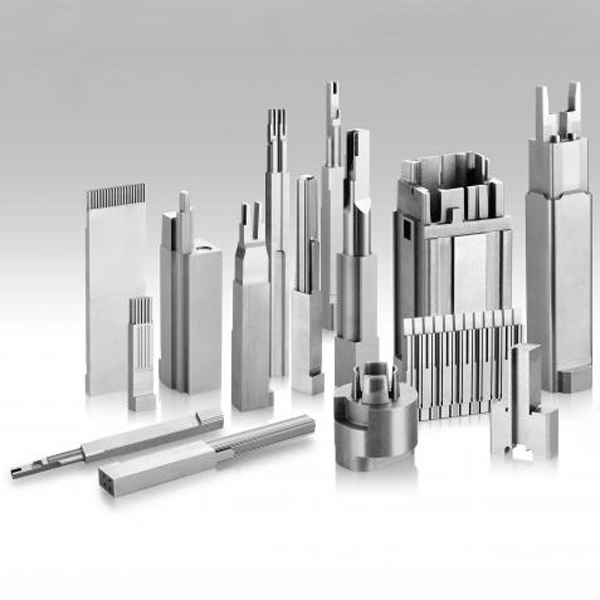 Non-standard mold components for mold manufacturing are composed of those